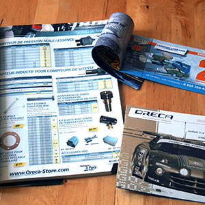 Oreca : Catalogues et brochure
